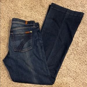 BRAND NEW 7 For All Mankind Dojo Jeans ***LONG***